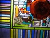 Snead window, Portland (detail)