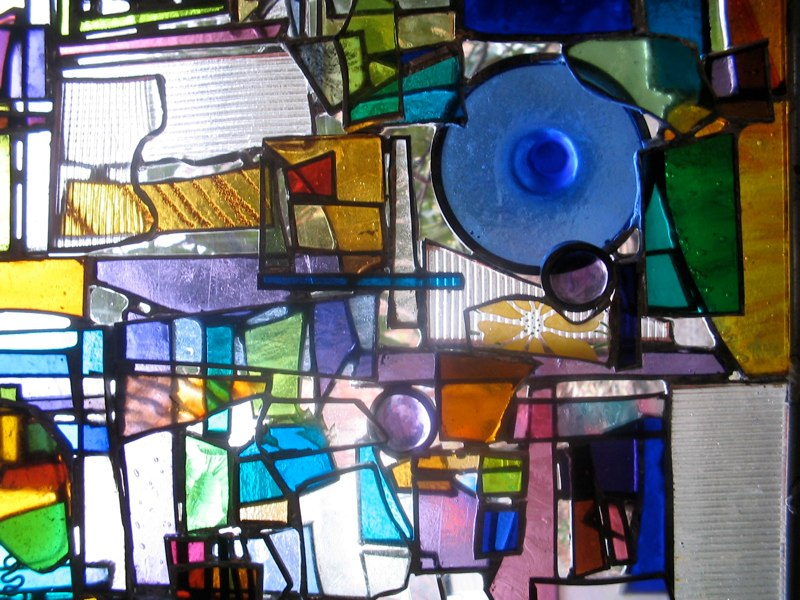 Snead window, Portland (detail 2)
