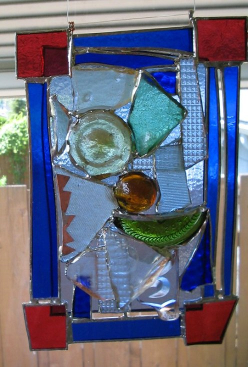 100% recycled glass