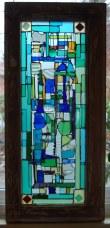 Winburn panel, Seattle (recycled transom window)